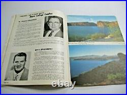 1960 2nd All American Bowl Football Program Billy Cannon Lsu Roster No Show Dnp
