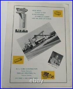 1960 Holiday Bowl Program NAIA Championship Lenoir Rhyne v Humboldt St. Ex 68848