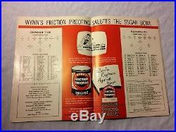 1962 College Football Program 28th Sugar Bowl Alabama vs Arkansas New Orleans
