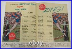 1962 U. S. Bowl Program College Football All Star Game Wash. D. C. Rare Ex+ 68906