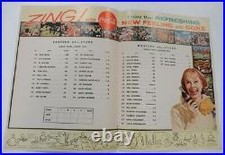 1963 Crusade Bowl Program College Football All Star Game Baltimore Ex+ 68907