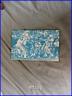 1963 OLE MISS SUGAR BOWL MEDIA GUIDE Program JOHNNY VAUGHT 1962 College Football
