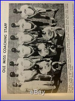 1963 Sugar Bowl OLE MISS vs ARKANSAS! Football program/JERRY JONES/JIMMY JOHNSON