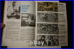 1965 Gator Bowl Program Georgia Tech Vs Texas Tech Ncaa Football Rare