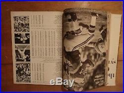 1967 AFL-NFL Championship First Super Bowl I Program Packers vs. Chiefs
