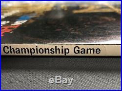 1967 AFL-NFL Championship Super Bowl I Program Green Bay Packers vs. Chiefs SB 1