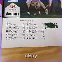 1967 AFL vs NFL Championship Program 1st SUPER BOWL I Packers vs Chiefs STARR