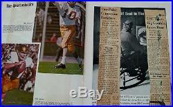1967 PURDUE VS USC SOUTHERN CAL ROSE BOWL Football Program NATIONAL CHAMPIONS