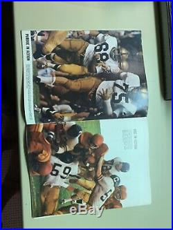 1967 Rose Bowl USC Trojans vs Purdue Boilermakers Football Program. Very good