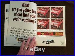 1967 Super Bowl I 1 Program Chiefs Packers Bart Starr Vince Lombardi Unitas