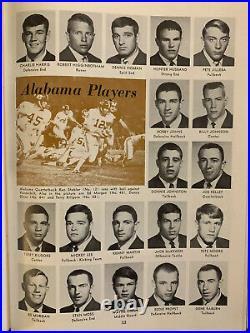 1968 Cotton Bowl Alabama vs Texas A&M football program Ken Stabler/NEAR MINT
