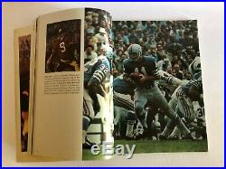 1968 GB Packers Raiders Super Bowl II AFL NFL Bart Starr Lombardi Program G4
