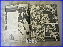 1968 NEW YORK JETS YEARBOOK Media Guide 1969 SUPER BOWL CHAMP Program JOE NAMATH
