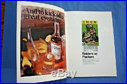 1968 Super Bowl II Program Green Bay Packers vs Oakland Raiders Ex-mt