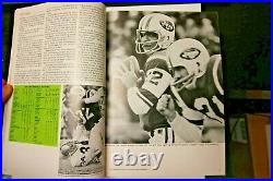 1969 Super Bowl III Program Rare New York Jets Baltimore Colts NFL Football