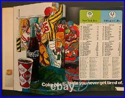 1969 Super Bowl lll Football Program NY Jets vs Baltimore Colts Orange Bowl
