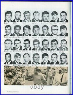 1970 Cotton Bowl Program Texas v Notre Dame Joe Thiesman Longhorns Champs