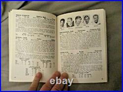 1970 DALLAS COWBOYS MEDIA GUIDE Yearbook TOM LANDRY Program 1971 SUPER BOWL AD