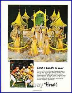 1970 Orange Bowl football Program Missouri vs Penn State