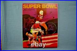 1970 Super Bowl IV Program Kansas City Chiefs vs Minnesota Vikings nr-mt