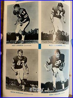 1971 Gator Bowl Georgia vs North Carolina Football Program Vince Dooley