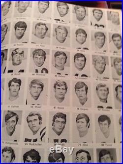 1971 Georgia Tech vs Mississippi Ole Miss Rebels Peach Bowl football Program