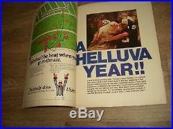 1971 SUPER BOWL V PROGRAM BALTIMORE COLTS v DALLAS COWBOYS