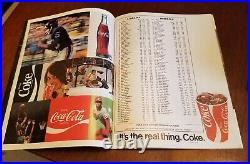 1972 Orange Bowl Alabama vs Nebraska football program JOHNNY RODGERS/BEAR BRYANT
