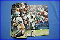 1972 Super Bowl VI Program Miami Dolphins vs Dallas Cowboys nr-mt