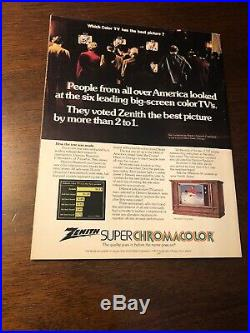1973 Redskins vs Dolphins Super Bowl SB VII 7 Program Dolphins Undefeated Season
