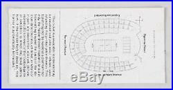 1973 Super Bowl VII Program & Ticket Stub Miami Dolphins vs. Washington Reds