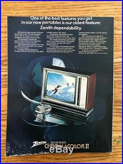 1974 SUPER BOWL VIII PROGRAM MIAMI vs MINNESOTA