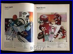1976 Super Bowl X Steelers Cowboys Signed x5 Program NFL Football Vintage