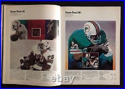 1976 Super Bowl X Steelers Cowboys Signed x5 Program NFL Football Vintage Autos