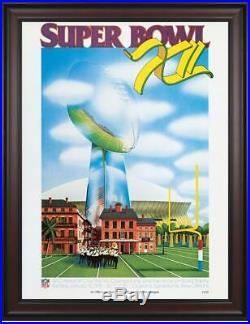 1978 Cowboys vs Broncos 36x48 Framed Canvas Super Bowl XII Program Fanatics