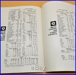 1978 Dallas Cowboys Season Review Special Publication Super Bowl 1979