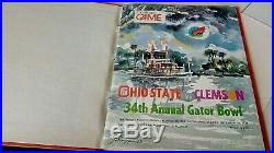 1978 gator bowl program PLAYER'S ONLY ISSUE OHIO ST BUCKEYES CLEMSON THE PUNCH