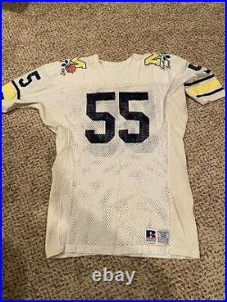 1987 Michigan Football Rose Bowl Team Issued Jersey