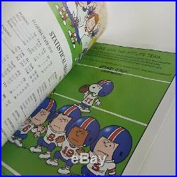 1998 Sugar Bowl Game Ticket Stubs Florida State Ohio State Program Book Menu Vtg