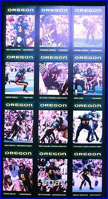 2001 Oregon Ducks Football Card Set Joey Harrington Fiesta Bowl Champions