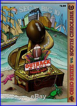 2002 Outback Bowl football program South Carolina 31 vs. Ohio State 28 Phil Petty