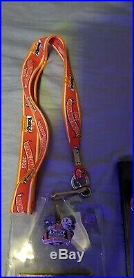 2003 NC Fiesta Bowl Ohio State vs. Miami Program, Ticket, LANYARD HOLDER & Pin