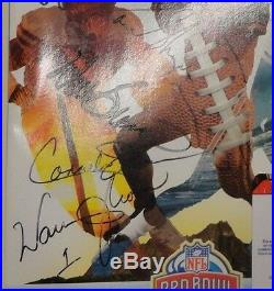 2005 NFL Football Hawaii Pro Bowl Official Program Multi Signed Hendricks Moon