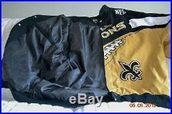 2009 NFL New Orleans Saints Official Super bowl Jacket Size 4XL/4G