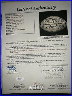 2009 Pro Bowl NFC Authentic HOFers Brees Manning Peterson Witten Fitzgeral &MORE