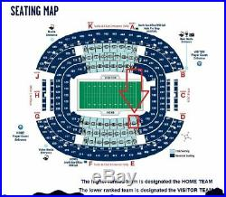 2019 Goodyear Cotton Bowl 2 Tickets Sec C107, Parking, Program Penn State Side