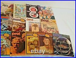 22 Vintage Redskins NFL Football Gameday Program Lot 1969 Lombardi Saints Bowl