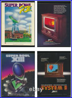 (23) Super Bowl Official Game Programs from 1978 to 2005 Near Mint / Mint