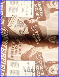 9/23 1945 Cleveland Rams vs Philadelphia Eagles football program Akron bowl