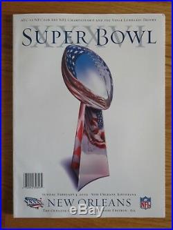 ALL 6 NEW ENGLAND PATRIOTS Super Bowl 36 38 39 49 51 53 Programs TOM BRADY 4xMVP